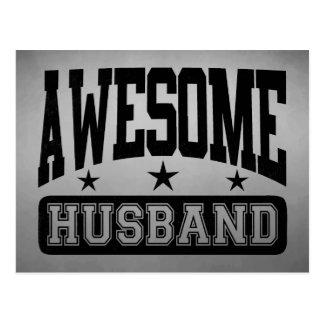 Awesome Husband Postcard