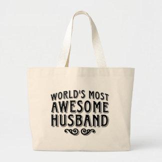 Awesome Husband Tote Bag