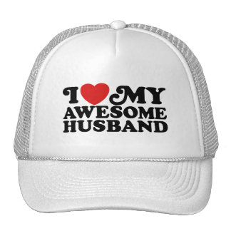 Awesome Husband Trucker Hats