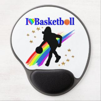 AWESOME I LOVE BASKETBALL DESIGN GEL MOUSE PAD