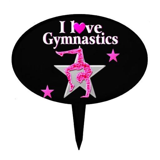 Gymnastics Cake Toppers Australia