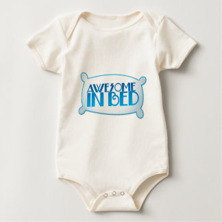 AWESOME in bed Baby Bodysuit