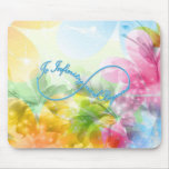 """Awesome Infinity symbol """"To infinity and beyond"""" Mouse Pad"""