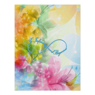 """Awesome Infinity symbol """"To infinity and beyond"""" Print"""