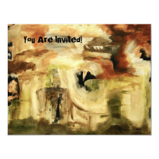 Awesome Invitation Design From Original Art