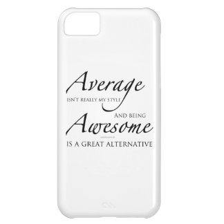 Awesome iPhone Cover by Mindbender.dk - Black Text