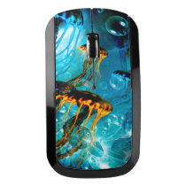Awesome jellyfish wireless mouse