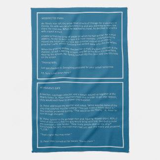 Awesome Jokes custom color hand towel #1