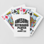 Awesome Keyboard Player Bicycle Playing Cards