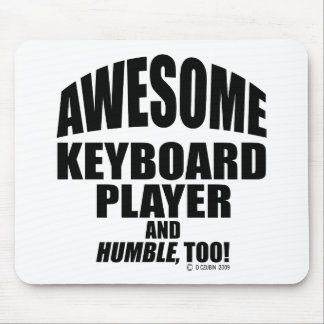 Awesome Keyboard Player Mousepad