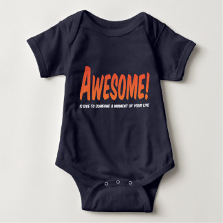 Awesome Kid Baby Bodysuit