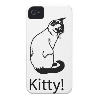 Awesome Kitty! Cat iPhone 4 Case