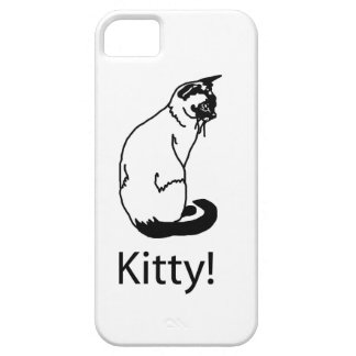 Awesome Kitty! Cat iPhone SE/5/5s Case