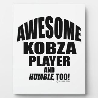 Awesome Kobza Player Display Plaques