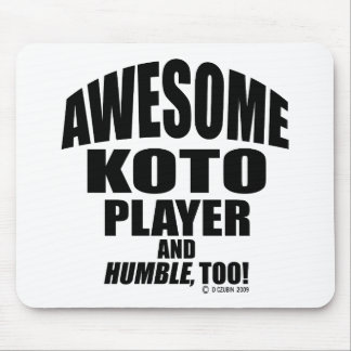 Awesome Koto Player Mousepads