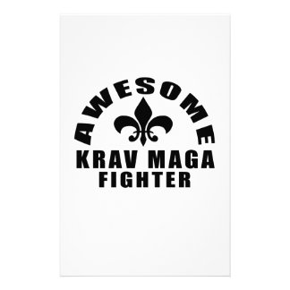 AWESOME KRAV MAGA FIGHTER STATIONERY