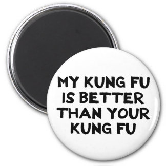 Awesome Kung Fu Magnet