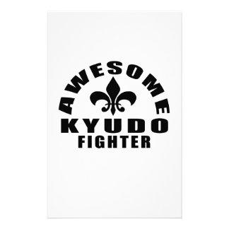 AWESOME KYUDO FIGHTER STATIONERY