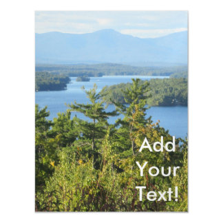 Awesome Lake winnipesaukee View Magnetic Card