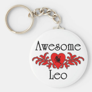 Awesome Leo Keychain