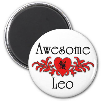 Awesome Leo Magnet