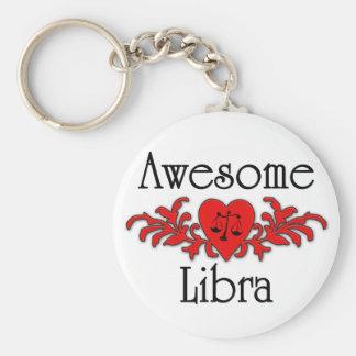 Awesome Libra Keychain