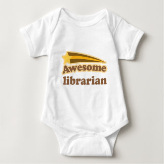 Awesome Librarian Gift Baby Bodysuit