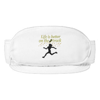 AWESOME LIFE IS BETTER ON THE TRACK DESIGN VISOR