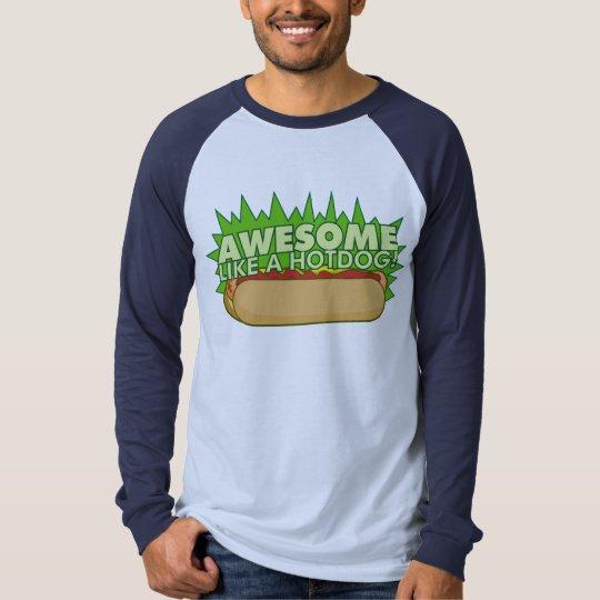 Awesome Like a Hot Dog Shirt 1