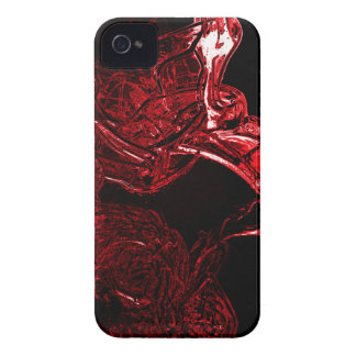 Awesome Liquid Red iPhone 4 Case-Mate Case