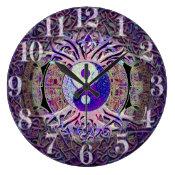 Awesome Looking Yin Yang Tree Large Clock (<em>$31.65</em>)