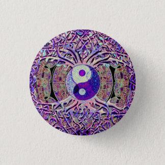 Awesome Looking Yin Yang Tree Pinback Button