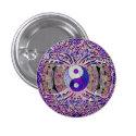 Awesome Looking Yin Yang Tree Pinback Button (<em>$2.40</em>)