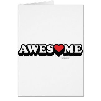 Awesome Love Valentines Day - Heart 14th feb Greeting Card