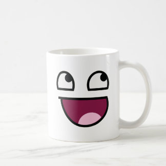 Awesome Lulz Smiley Face Coffee Mug
