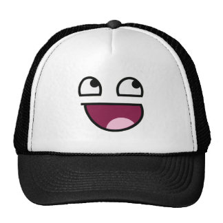 Awesome Lulz Smiley Face Trucker Hats