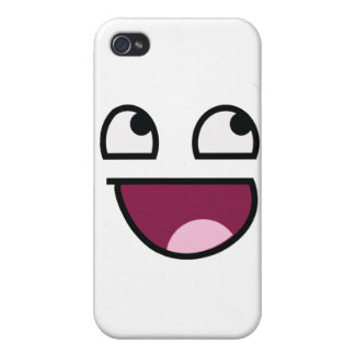 Awesome Lulz Smiley Face iPhone 4/4S Case
