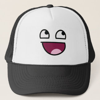 Awesome Lulz Smiley Face Trucker Hat