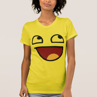 Awesome Lulz Smiley Face Tshirt