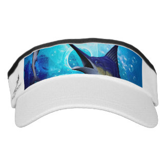 Awesome marlin with bubbles visor