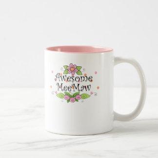 Awesome MeeMaw T-Shirt Two-Tone Coffee Mug