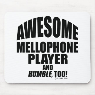 Awesome Mellophone Player Mouse Pad