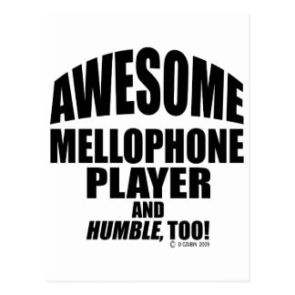 Awesome Mellophone Player Postcard