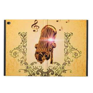 Awesome microphone and clef powis iPad air 2 case