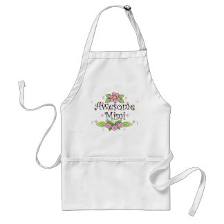 Awesome Mimi T-Shirt Adult Apron