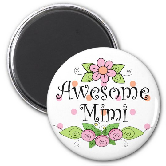 Awesome Mimi T-Shirt Magnet
