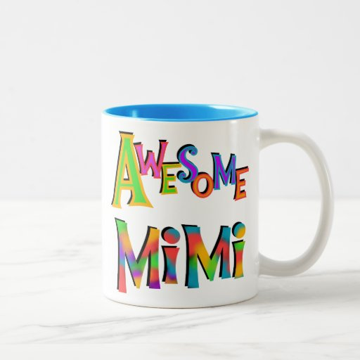Awesome Mimi T-shirts and Gifts Two-Tone Coffee Mug