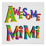 Awesome Mimi T-shirts and Gifts Print