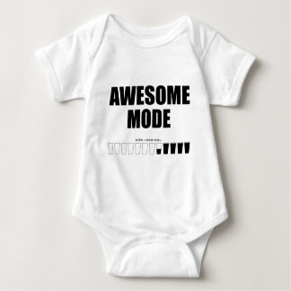 Awesome Mode Loading Baby Bodysuit