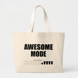 Awesome Mode Loading Jumbo Tote Bag